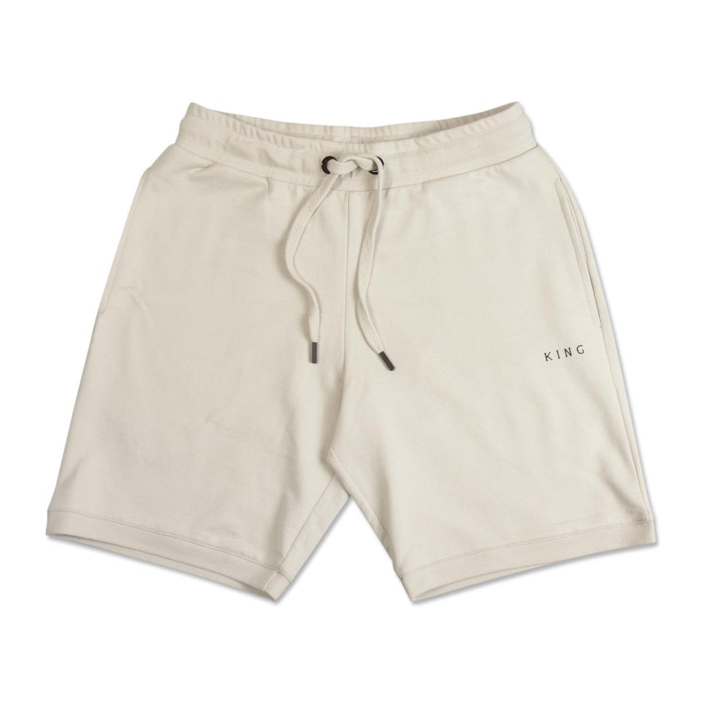 King Apparel - Bethnal Summer Trackset Shorts - Cement - FRS