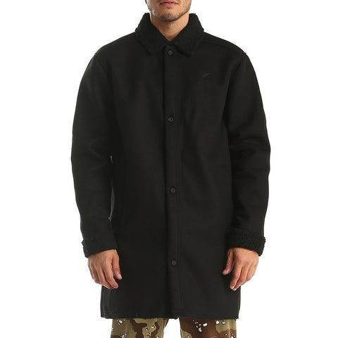 Publish - Bryson Long Sleeve Trench - Black