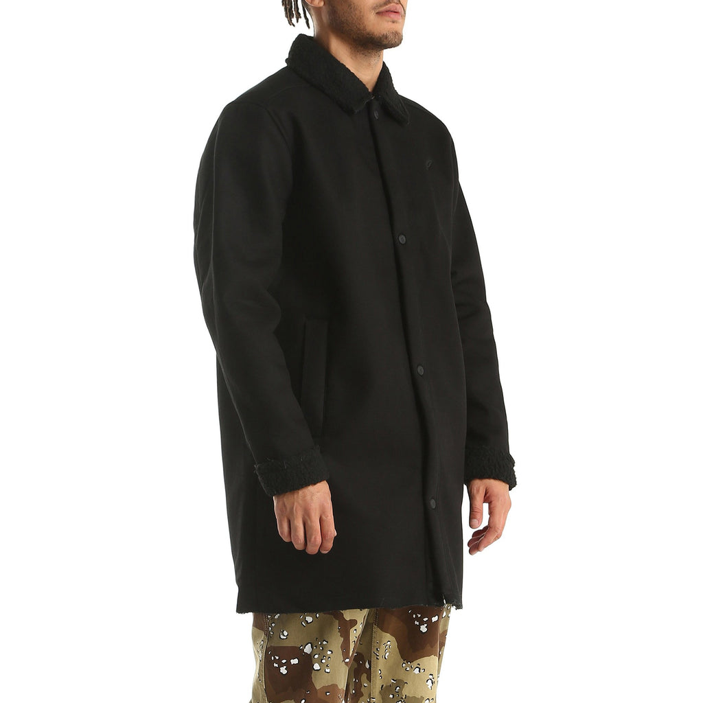 Publish - Bryson Long Sleeve Trench - Black - FRS