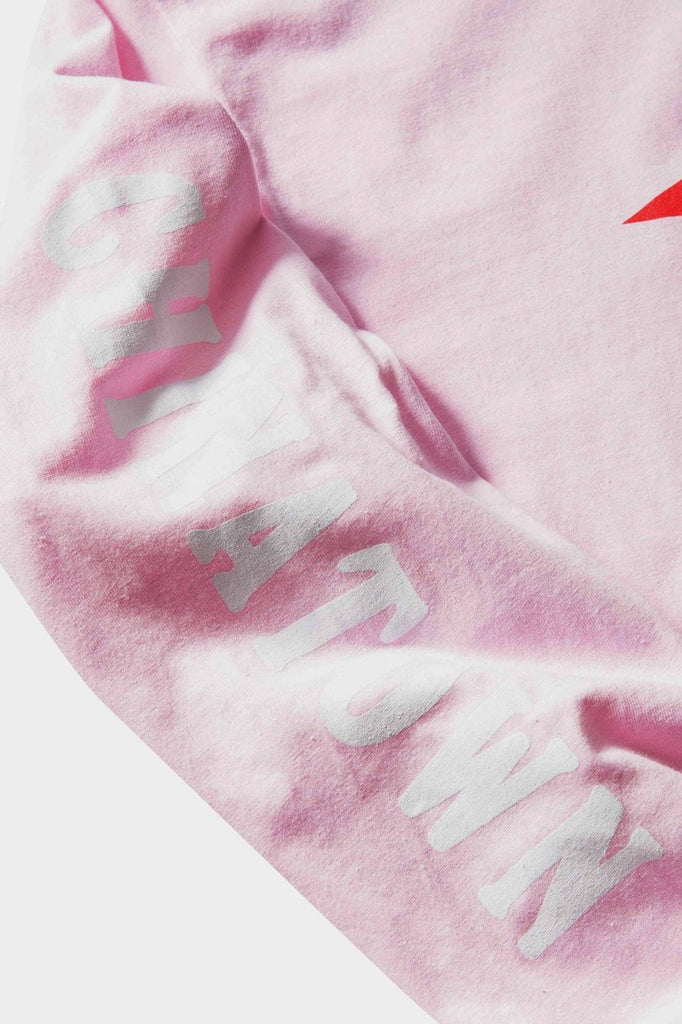 The Hundreds X Chinatown Market - Smiley Adam LS T - Pink