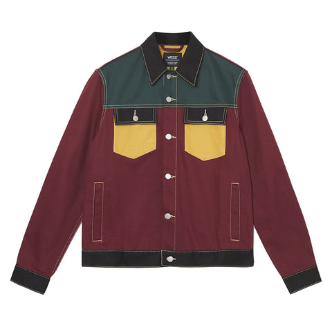 WeSC - Denim Jacket Colorblock - Multi