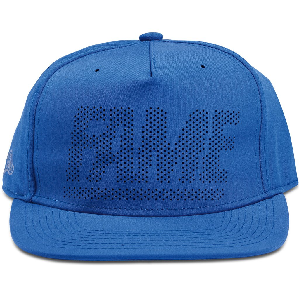 Hall of Fame - Fame Block Perforated Snapback - Royal