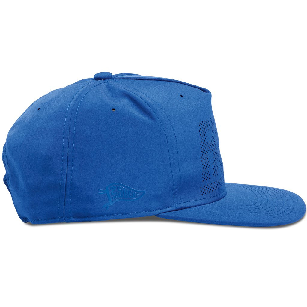 Hall of Fame - Fame Block Perforated Snapback - Royal - FRS