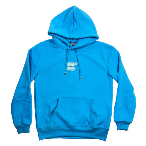 "Arvada X Hybrid - ""ITS IN OUR BLOOD"" Hoodie - Blue"