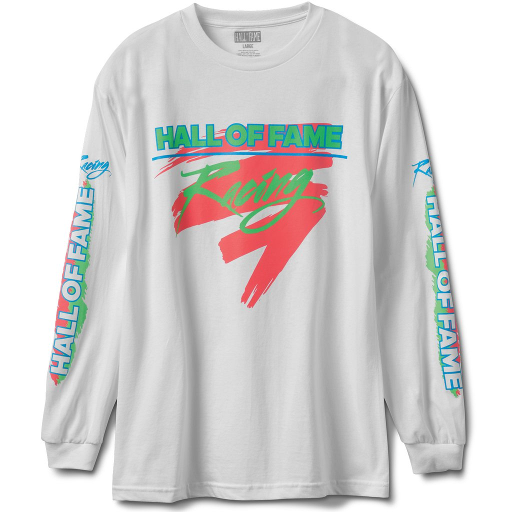 Hall of Fame - Maxima Long Sleeve Tee - White - FRS