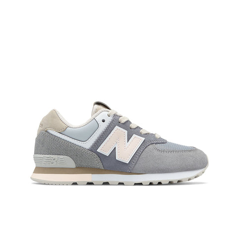 New Balance - Kid's 574 Retro Surf - Gunmetal with Steel