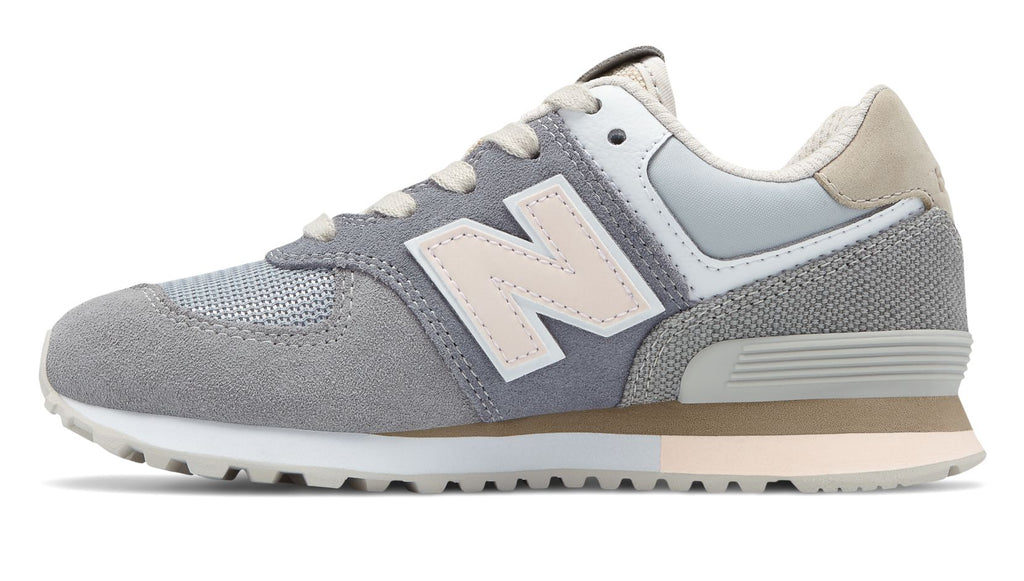 New Balance - Kid's 574 Retro Surf - Gunmetal with Steel - FRS