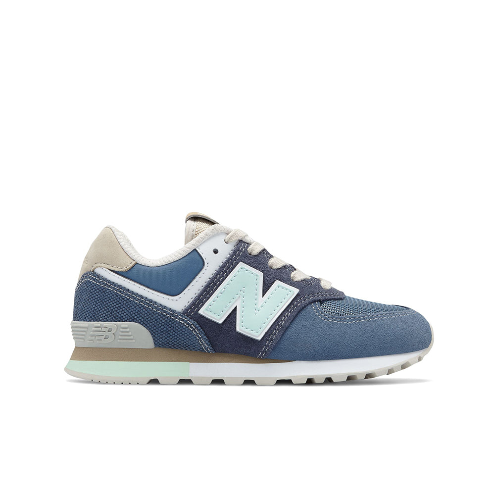 New Balance - Kid's 574 Retro Surf - Navy with Vintage Indigo - FRS