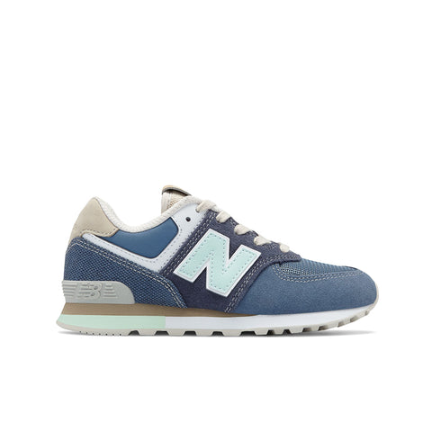 New Balance - Kid's 574 Retro Surf - Navy with Vintage Indigo