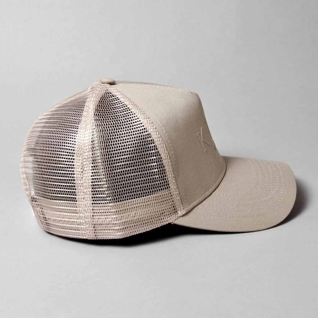 King Apparel - Poplar Trucker Cap - Sand - FRS