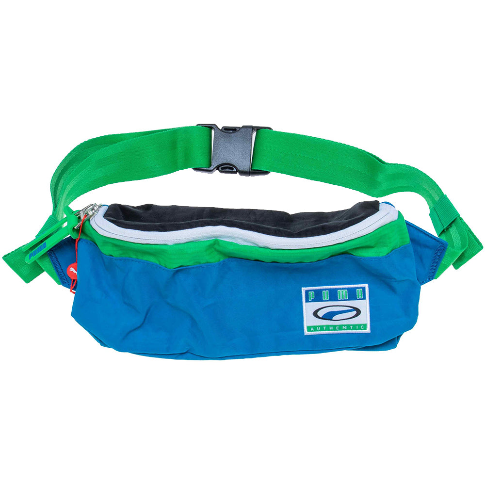 Puma - City Block Fanny Pack - Green / Blue - FRS