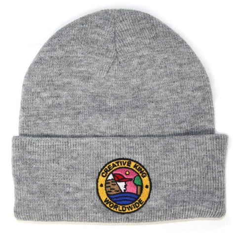 *Creative King x Cleofus Worldwide- Worldwide Beanie - Grey