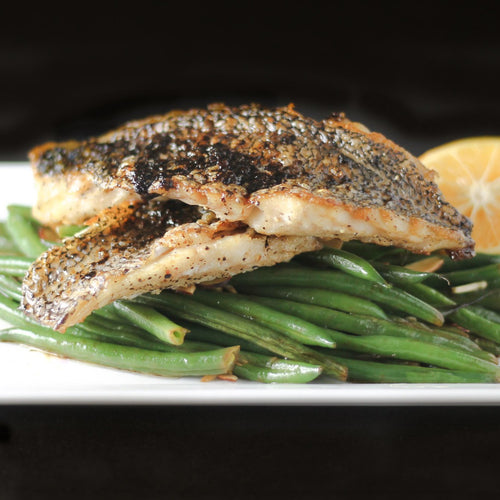 Black Sea Bass Filets Atlantic