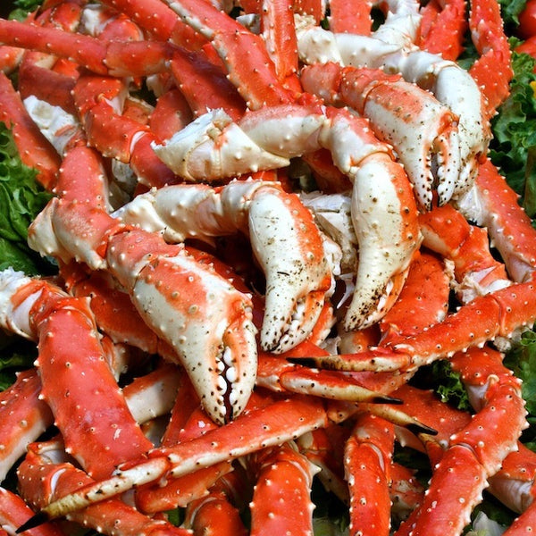 Colossal Red King Crab Legs, 20 lb. case