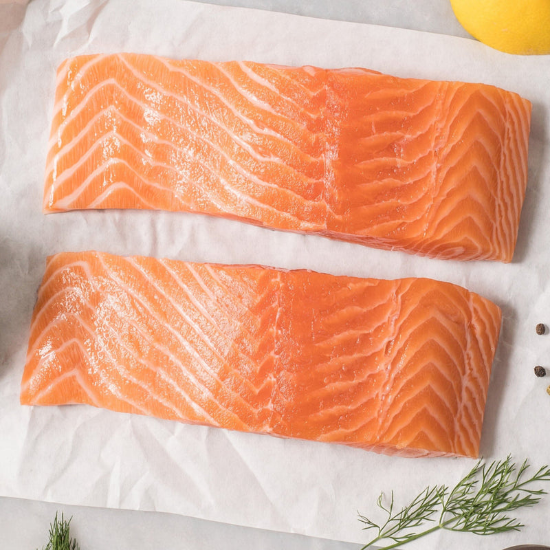 Salmon Fillets Wester Ross Scottish