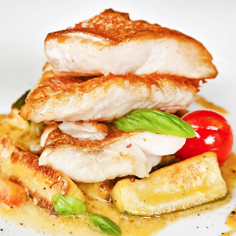 Gulf Grouper Fillets Wild Caught