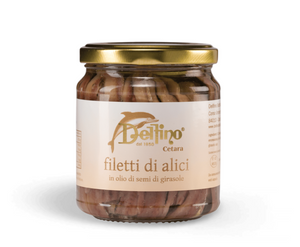 Filetti di Alici sott'olio (212gr)