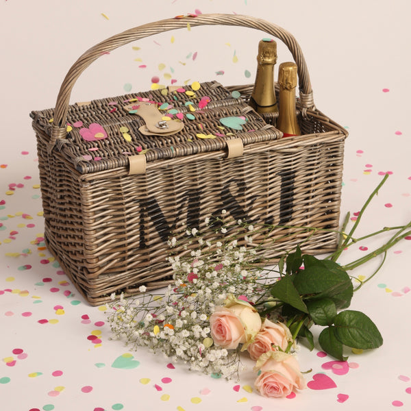 Personalised Two Person Picnic Basket