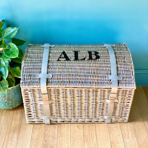 Personalised Steamer Storage Trunk