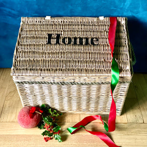 Personalised Willow Storage Trunk