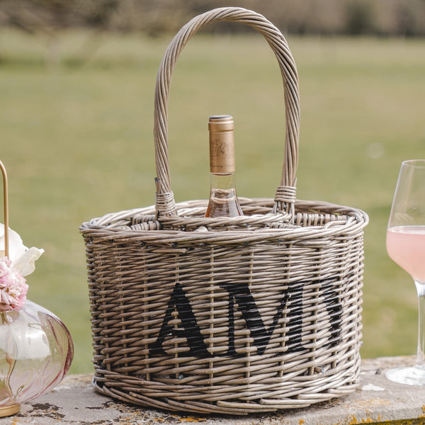Personalised Garden Party Basket