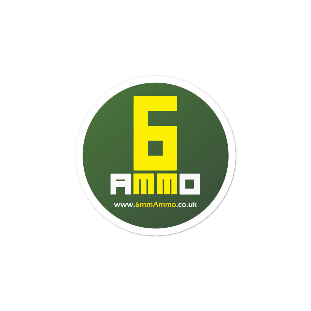 6mm Ammo stickers