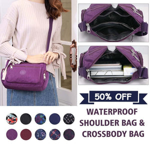Waterproof Shoulder Bag & Crossbody Bag