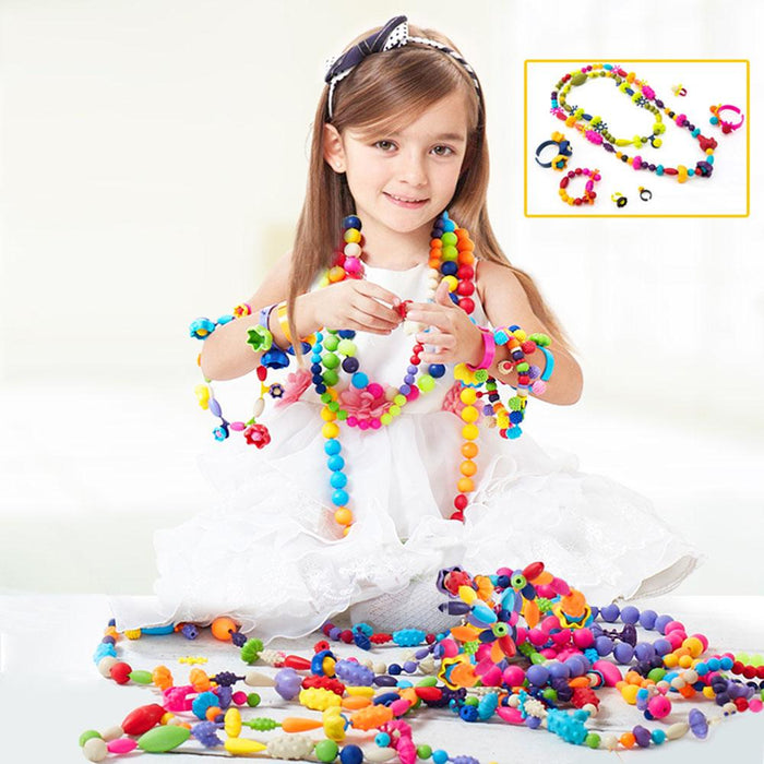 Pop Beads - DIY Jewelry Making Kit for Toddlers