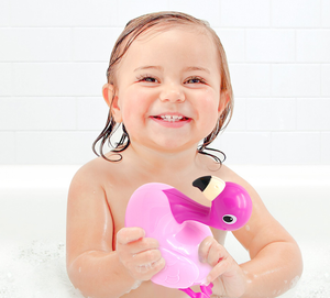 Baby bath toys electric swimming rhubarb duck