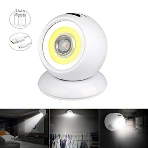 USB Rechargeable Motion Sensor Light