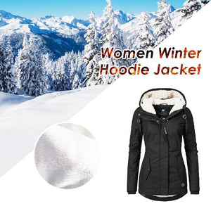 Women Winter Hoodie Jacket