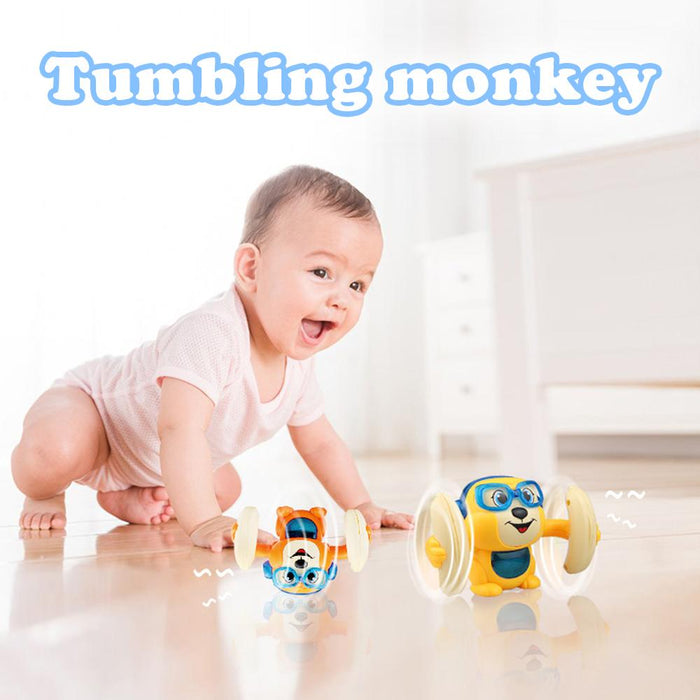 Electric Flipping Monkey Children Toy