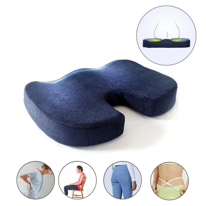 Seat Cushion Orthopedic, 100% Memory Foam