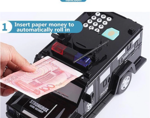 2020 new- smart music password banknote car piggy bank