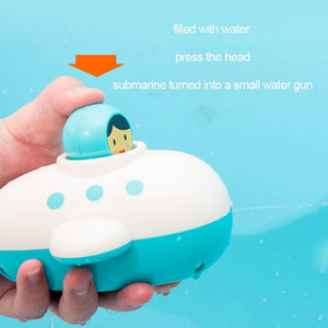 3 x Clockwork Submarine Toy