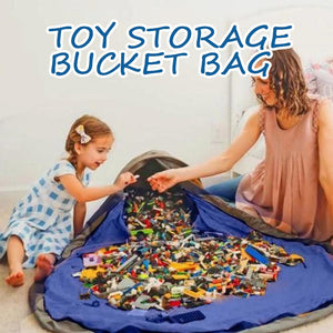 Toy Clean-up and Storage Container