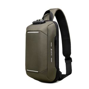 Vittim™ Chest Sling Bag Anti-theft Crossbody Pack with USB
