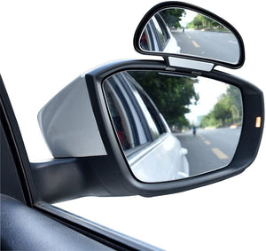 Vittim™ 360 degree adjustable Wide Angle Side Rear Mirrors blind spot Snap way rear view mirror universal