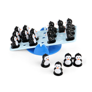 Penguin balance seesaw puzzle children toy