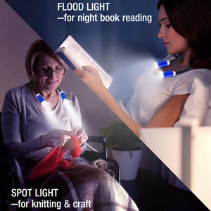 Vittim™ Rechargeable Led Neck Book Light
