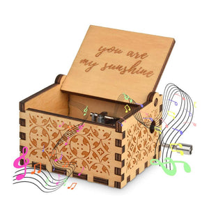 Sunflower Gift Set (Necklace+Music Box)
