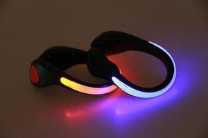 Shoe Clip Light Night Safety Warning LED Bright Flash Light