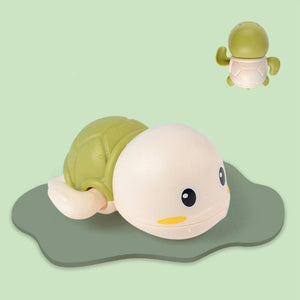Little Turtle Bath Toys (one package includes 3 turtles in different colors)