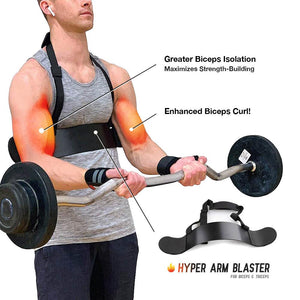 Hyper Arm Blaster for Biceps & Triceps workout