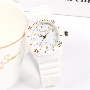Fashion Watch Diving Women Set Top Brand Luxury Waterproof