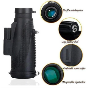 2020 New Waterproof 18×40 High Definition Monocular Telescope
