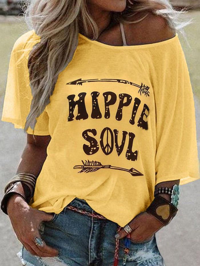 Hippie Soul Printed Shirts Tops