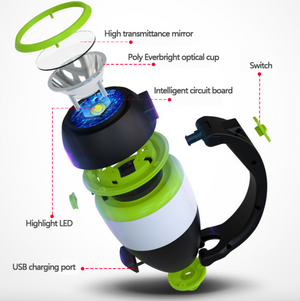 Portable power portable lantern flashlight table lamp