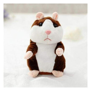 Talking Hamster Dark Brown Toys giggle giggles laugh giggling speaking hamster Talk back speak