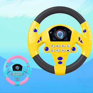 Simulated Steering wheel for Early Driving Education